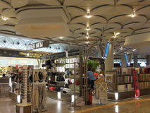 Chhatrapati Shivaji Maharaj International Airport in Mumbai, India. It is the second busiest airport in India after Delhi Royalty Free Stock Image