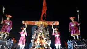 Chhatrapati Shivaji Maharaj Maratha Warrior immagini stock libere da diritti