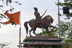 Chhatrapati Shivaji Maharaj Statue fotos de stock