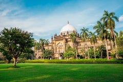 Chhatrapati Shivaji Maharaj Vastu Sangrahalaya Prince av det Wales museet i Mumbai, Indien fotografering för bildbyråer