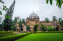 Chhatrapati Shivaji Maharaj Vastu Sangrahalaya, Prins van het Museum van Wales, Mumbai, India royalty-vrije stock afbeeldingen