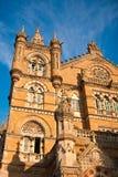 Chhatrapati Shivaji Station in Mumbai Stock Image