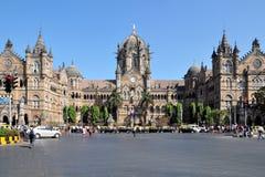 Chhatrapati Shivaji Terminus Fotografia Stock