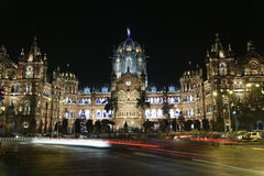 Chhatrapati Shivaji Terminus (CST) formerly Victoria Terminus in Mumbai. Chhatrapati Shivaji Terminus (CST) formerly Victoria Terminus in Mumbai, India is a Stock Image