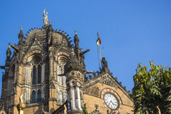 Chhatrapati Shivaji Terminus. (CST), formerly Victoria Terminus (VT), is a UNESCO World Heritage Site and an historic railway station in Mumbai, India which Royalty Free Stock Photography