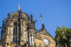 Chhatrapati Shivaji Terminus Royalty Free Stock Photography