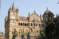 Chhatrapati Shivaji Terminus formerly Victoria station at Mumbai stock photos