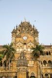 Chhatrapati Shivaji Terminus at Mumbai Stock Photography