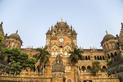 Chhatrapati Shivaji Terminus at Mumbai Stock Photo