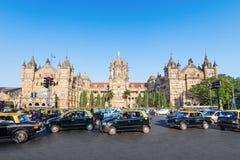 Chhatrapati Shivaji Terminus Royalty Free Stock Photo