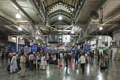 Chhatrapati Shivaji Terminus Royalty Free Stock Images