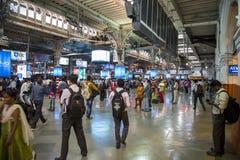 Chhatrapati Shivaji Terminus w Mumbai, India zdjęcia stock