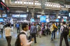 Chhatrapati Shivaji Terminus w Mumbai, India obraz stock