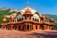 Chhatri do ki do maharani do moosi do cenotáfio em Alwar, ao lado do palácio da cidade de Alwar Imagem de Stock