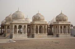 chhatris皇家的印度 免版税库存图片
