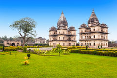 Chhatris Cenotaphs, Orchha Royalty Free Stock Photo