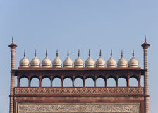 chhatris kopuły zakazują małego odgórnego biel Zdjęcia Stock