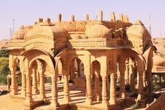Chhatris real o cenotafio de Bada Bagh Imagen de archivo libre de regalías
