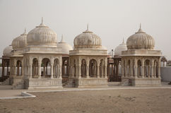Chhatris royal en Inde Images libres de droits