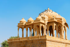 Royal cenotaphs, Bada Bagh, India Stock Photo