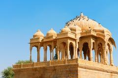 Royal cenotaphs, Bada Bagh, India Stock Photo