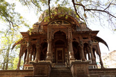 The Chhattris of Indore. The Chhatris of Indore were built in the late 1800s in the memory of Holkar rulers and the tombs are built on the cremation spot of the Stock Photo