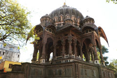 The Chhattris of Indore. The Chhatris of Indore were built in the late 1800s in the memory of Holkar rulers and the tombs are built on the cremation spot of the Royalty Free Stock Photos