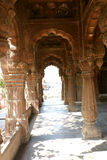 Chhattris van Indore Stock Foto's