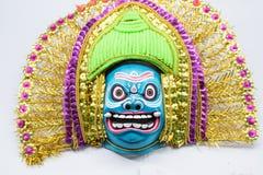 Chhau mask, handicraft items on display , Kolkata Royalty Free Stock Photography