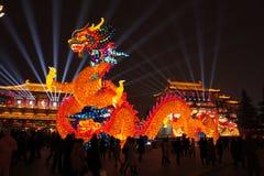 2019 Chińskich nowy rok w Xian obrazy stock