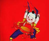 chińczycy chłopca Zdjęcia Royalty Free