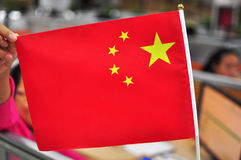chińczycy flagę Obraz Stock