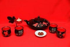 chińczycy postawił herbaty fotografia royalty free