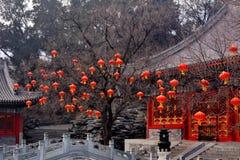 chińczycy starożytnym architektury zdjęcie stock