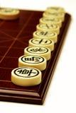chińczycy szachowy zdjęcie stock