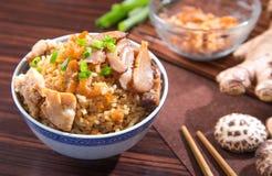 Chińczyków parowi ryż Obrazy Stock