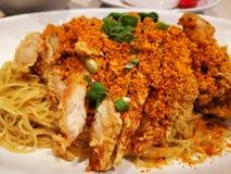 Chińczyków susi kluski z kurczaka mięsem Obraz Stock