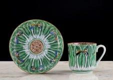 Chińczyk Eksportowa porcelana zdjęcia stock