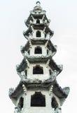 Kamienna pagoda Obraz Royalty Free