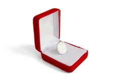 chińczyk pudełkowata moneta Fotografia Royalty Free