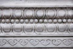 Chińczyk rzeźbiący Kamienny dekoraci tło fotografia stock