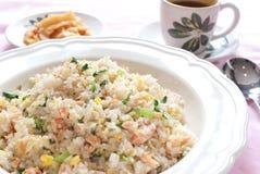 chińczyk smażący ryż obrazy stock