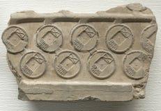 Chińczyk stara moneta oryginalna lejnia (część) Zdjęcie Royalty Free