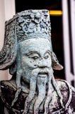 Chińczyk statuy kamienna statua kamienna sztuka w antycznym w przeszłości Fotografia Royalty Free