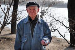 Chińczyka Baoding piłki obrazy royalty free