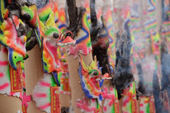 chińczyka płonący kadzidło Zdjęcie Royalty Free
