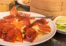 Chińczyka sławny jedzenie & x22; Peking Duck& x22; Fotografia Royalty Free