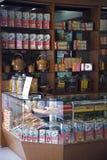 Chińczyka sklep dla tradycyjni chińskie medycyny Zdjęcia Royalty Free