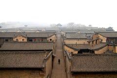 Chińscy antyczni architektoniczni complexï ¼ ŒThe wangs podwórzowi obrazy stock