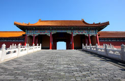 chińscy budynków obraz royalty free